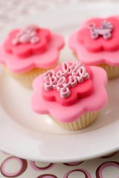 Baby Shower Fondant Cakes [Slideshow]