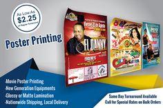 FREE P/&P! A1 Poster Printing Full colour MATT Poster Printing Service