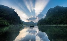 The #amazing rays of #light in #NinhBinh #Vietnam. Original photo by #VisionofIndochina
