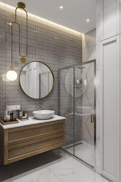 Bathroom Design Small, Modern, Mirror, Furniture, Home Decor, Bathroom Interior Design, Bath, Trendy Tree, Decoration Home