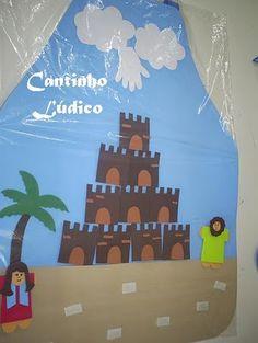 Avental de história - Torre de Babel.