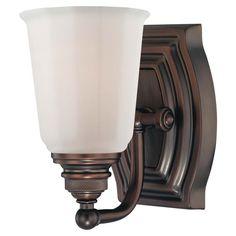 $40 Clairemont Dark Brushed Bronze One Light Bath Minka 1 Light Bath Lighting Wall Lighting