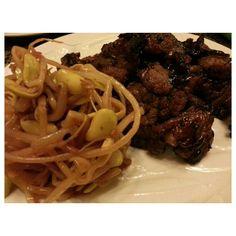 ここ最近多忙で#スタミナ が欲しいと思っていた時の#晩ごはん が#焼肉 っていうのは最高に嬉しいです。カミさんありがと!!When I felt I needed #stamina or #energy wifey cooked #yakiniku for me\(^o^)/ perfect #food #foodporn #yum #instafood #TagsForLikes #yummy #amazing #instagood #photooftheday #dinner #tasty #food