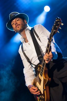 Mike Ness and Social Distortion never let rock n roll die and they still are making an impact to this day.