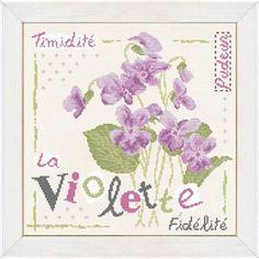 La Violette (fiche) J007 - Lilipoints