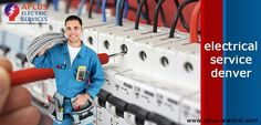 Now easy and faster reaping service regarding electrical equipments you should utilize, we have wonderful electrical service denver; who will help you regarding repair your equipments. To use this facility must visit at aplus-electric.com; and easily take advantages of our well expert electricians who will be immediately available for you.