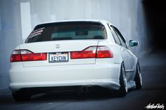 "my honda accord Probably one of the most popular 6th generation Accord's on the planet is ""Keychain's"" aka Keith Cheng out of southern california. He's been in the fitment game for a long time and these photos are of the most recent set up. Keith is…"