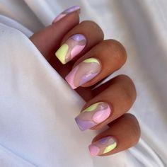 Pastel Nail Art, Dream Nails, Stylish Nails, Nail Tech, Nail Artist, Nail Inspo, Toe Nails, Missguided, Summer Nails