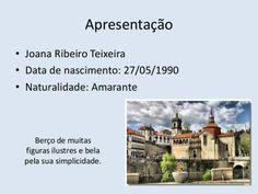 Apresentação de Joana Teixeira (Amarante)