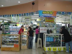 Cell Phone Shop In Mall Of Asia