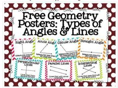 Fancy Geometry ideas for the 3rd-5th grade classrooms! Have your kids engage in geometry in these fun ways! Freebies included!
