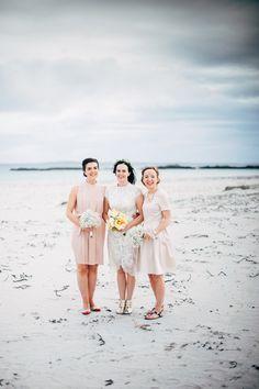 An effortlessly stylish wedding on the remote island of Inishbofin. Engagement Pictures, Wedding Engagement, Big Love, Island Weddings, Optimism, Big Day, Bridesmaids, Short Dresses, Wedding Photography