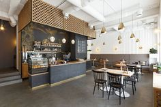 N+K Architectvra have recently completed the design of the first coffee shop with its own roastery in Ivano-Frankivsk, Ukraine.