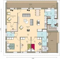 Kastelli - Aitio 144/164 Safe Haven, Humble Abode, House Floor Plans, Future House, Sweet Home, Cottage, Layout, Construction, House Design