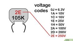 Simple Ways to Read a Capacitor - wikiHow