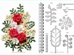 Flower banquet pattern