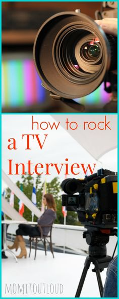 How to Rock a Television Appearance|Mom it Out Loud  |Television Interview Tips|Interview tips|Media coaching|Media appearances|How to talk to the press|Mom Blogs|Funny Mom Blogs|Humor|Funny Stuff|Listen to Your Mother|