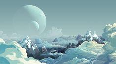 Landscape Planet Art Wallpapers - http://hdwallpapersf.com/landscape-planet-art-wallpapers