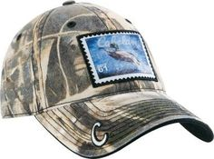 ON SALE! Cabelas Realtree Duck Stamp Camo One Size Adjustable Velcro NIP | eBay $21.99