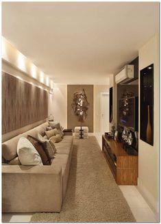 Small Living Room Design, Living Room Designs, Modern Interior, Interior Design, Student House, Beautiful Interiors, Flat Design, My House, Small Spaces