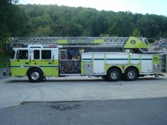 Tri-Community Fire Department, Collegedale, TN - 2009 Rosenbauer 109' Quint