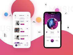 Daily UI #02 -  Music App