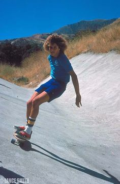 """ Here is a never seen pic. of a young Tony Alva. Tony was 17 when this was taken in 1976. Check out those shoes, he use to wear out a pair about once a month, glad he has had Vans to support his shoe habit all these years! Photo: Lance Smith"" Brian..."
