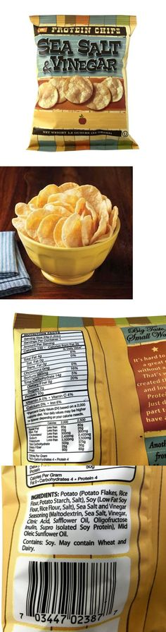 Chips 179179: Bariatricpal Protein Potato Chips - Sea Salt And Vinegar -> BUY IT NOW ONLY: $139.99 on eBay!