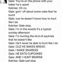 "Gale's ""You Belong With Me"" parody. Hah!  :) Sorry, Gale, Peeta's in the House! :P"