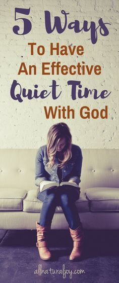 Quiet time with God is all about spending time in the Bible, meditating on Scripture and learning how to memorize Bible verses. Learn how to have devotions with these tips on Bible journaling and spending daily time in the Word of God.