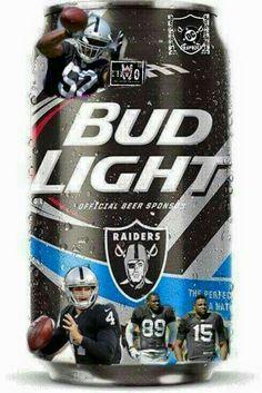 Oakland Raiders Football, Raiders Baby, Raider Nation, Bud Light, 4 Life,  Coolers, Sharks, Beer, Drink