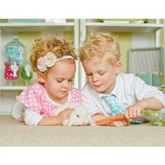 Sweet Pink and green headband - Kids
