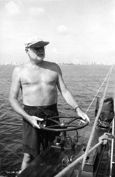 Hemingway and some Gurkha Shorts