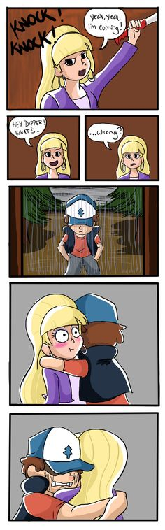 Dipper and Pacifica<<<<< I imagine right after Dipper is upset at Mabel for trusting Gruncle Stan over him, he goes to Pacifica's house.
