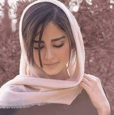 Hijabi Girl, Girl Hijab, Arabian Beauty Women, Iranian Beauty, Persian Beauties, Asian Model Girl, Persian Girls, Arab Girls, Hair Cover