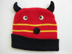 'Funny Devil Hat For The Kids' is going up for auction at  4am Fri, Dec 14 with a starting bid of $5.