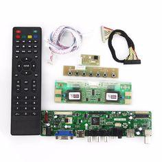 T.VST59.03 For M201EW02 V.8 LCD/LED Controller Driver Board (TV+HDMI+VGA+CVBS+USB) LVDS Reuse Laptop 1680*1050