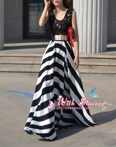 Hey, I found this really awesome Etsy listing at https://www.etsy.com/listing/172326954/black-and-white-stripe-cotton-dress-maxi