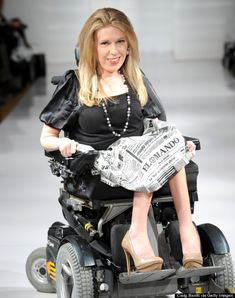 Fashion Week  has  Danielle Sheypuk, Ms. Wheelchair New York 2012 as its first wheelchair model. Awesome!