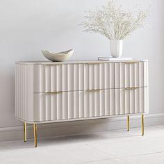 Oversized Furniture, Modern Furniture, Furniture Design, Gold Furniture, Refurbished Furniture, Accent Furniture, Design Living Room, 6 Drawer Dresser, Best Dresser