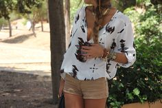 Tribal print done right.