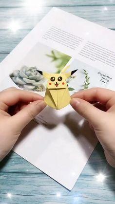 Diy Crafts Hacks, Diy Crafts For Gifts, Diy Arts And Crafts, Creative Crafts, Art Crafts, Paper Crafts Origami, Paper Crafts For Kids, Diy Paper, Origami Gifts
