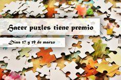 Hacer puzzles tiene premio en puzzlemanía hasta el día 19 de marzo. Permanece atent@ a todos los sorteos, concursos y promociones que realizamos en puzzlemanía. #puzzlemania #puzzles