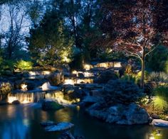Landscape Structures offers wide range of Waterfall Landscaping and lightening services in Mississauga and across GTA.