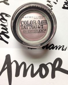 Maybelline color tattoo in Petunia Pink. Released spring 2015, limited edition. New & sealed. $12.
