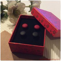 Shipped to New York, United States!  www.biesge.etsy.com  #matte #red #black #studearrings #earrings #earstuds #biesge #etsy #etsyfinds #shopping #newyork #unitedstates #women #men #unisex #bloggers #menearrings #mensjewelry #stylish #trendy #pics #picoftheday #photo #bestoftheday #cool #instamood #instacool #fashion #accessories