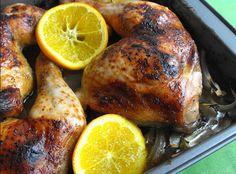 Pernas de frango com laranja e cominhos | SAPO Lifestyle