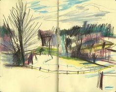 Yann Kebbi: at it again Artist Journal, Artist Sketchbook, Hipster Drawings, Art Drawings, Gravure Illustration, Illustration Art, Sketchbook Inspiration, Urban Sketching, Graphic Design Illustration
