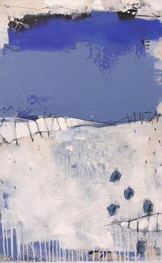 """Saatchi Art Artist Daniela Schweinsberg; Painting, """"A seascape (work no. 2015.13)"""" #art"""