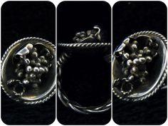 ・葡萄リング ・材料:950銀 Vine Ring. Material: silver950